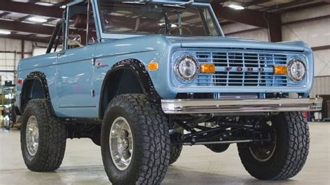 New Ford Bronco For Sale by Brand New Classic Ford Broncos Now On Sale Fox News