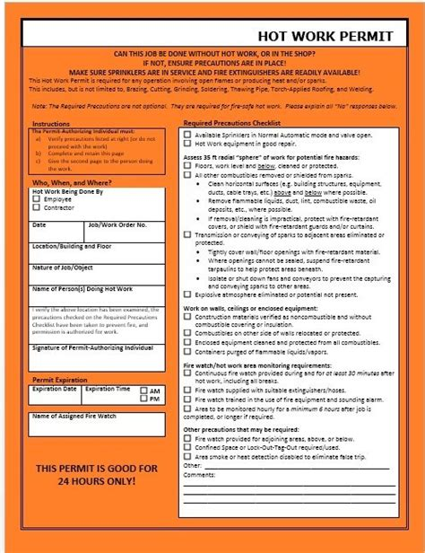 sample work permit certificate templates