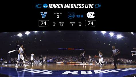 ncaa march madness  vr lets    courtside