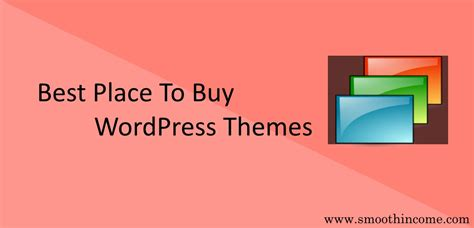 best place to buy wordpress themes premium theme guide