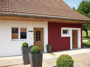 Peinture Pour Façade De Maison : couleur peinture facade maison avec couleur peinture ~ Premium-room.com Idées de Décoration