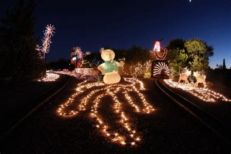 scottsdake az christmas lights featured on diy attractions attractions in scottsdale