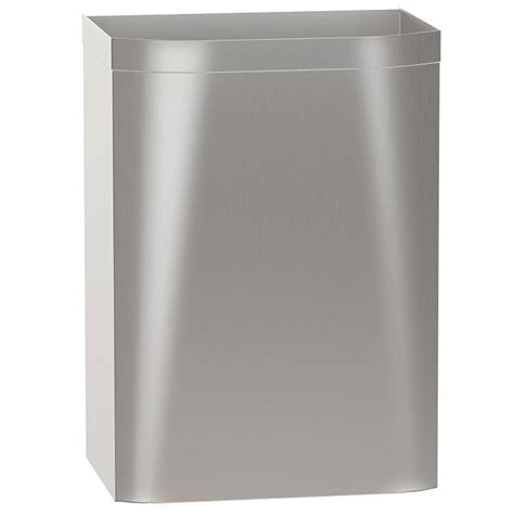 diplomat surface mounted waste receptacle 16 5 gallon