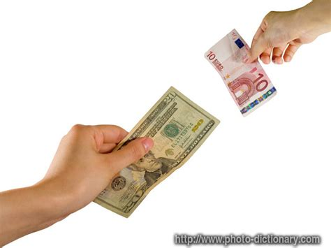 Currency Exchange  Photopicture Definition At Photo