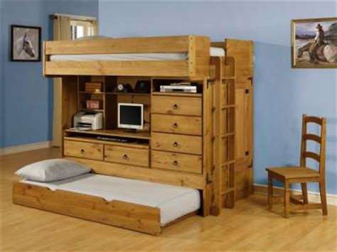 wood bunk bed with desk wooden bunk beds with desk