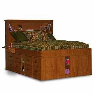King Size Captains Bed With Drawers - WoodWorking Projects
