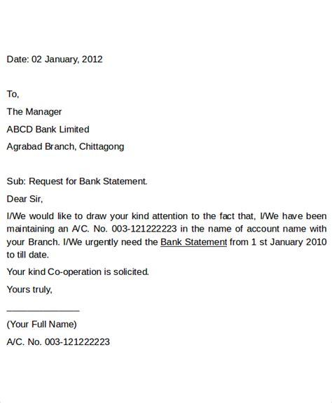 letter apply bank statement fresh essays