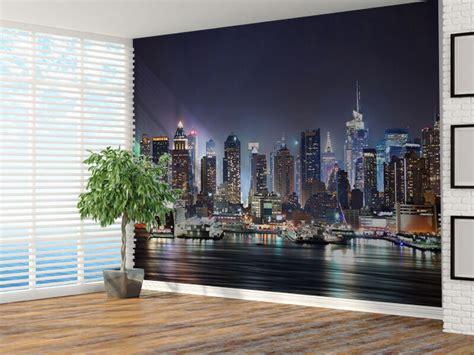 New York Bedroom Wallpaper Ebay by New York City Skyline Photo Wallpaper Wall Mural 7324213