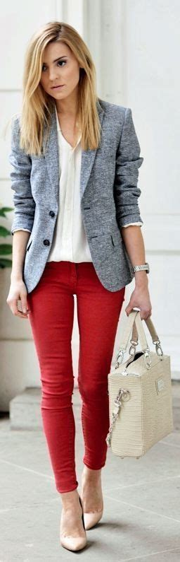 business casual jeans ideas  pinterest work casual business casual outfits