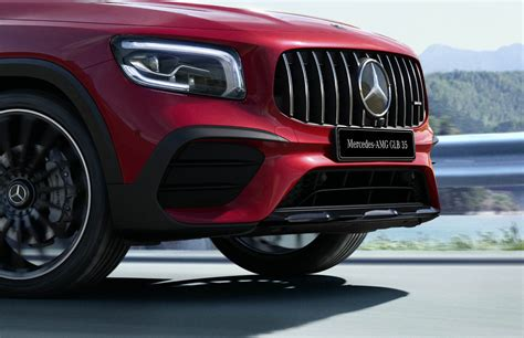 The high performance guaranteed by its 2.0 306 hp petrol turbo (mercedes declares. Mercedes-BenzPH launches AMG GLB 35 4MATIC