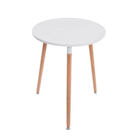 Table De Cuisine Petite Table D'appoint Ronde 3 Pieds En