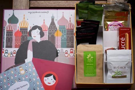 abonnement box cuisine la thé box de novembre un thé à pétersbourg jujube en cuisine