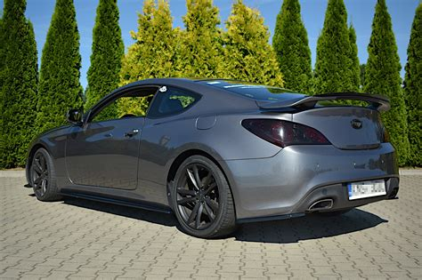 Test drive used hyundai genesis coupe at home from the top dealers in your area. DOKŁADKI PROGÓW HYUNDAI GENESIS COUPÉ MK.1 Textured ...