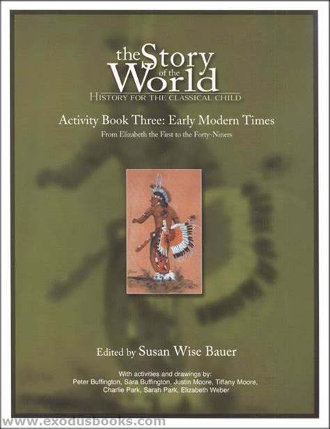 Story of the World Volume 3 Activity Book Exodus Books