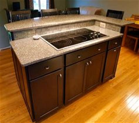 kitchen island  separate stove top  oven