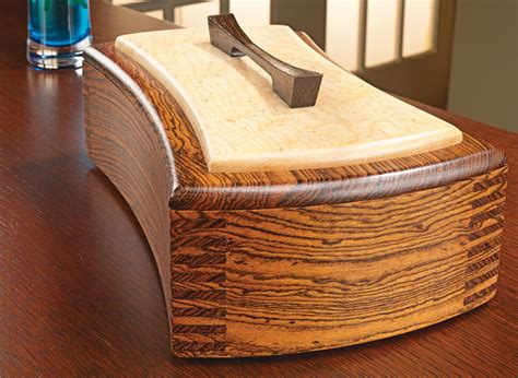 decorative keepsake box woodworking project woodsmith
