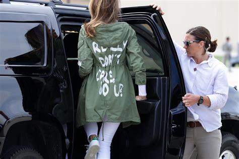 Melania Trump's Coat Causes Uproar - YouTube