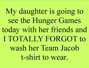 Funny Hunger Games Quote