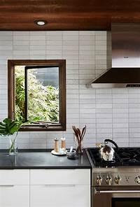 modern kitchen backsplash Unique Kitchen Backsplash Inspiration from Fireclay Tile - Anne Sage