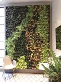 green walls  enliven  buildings common area