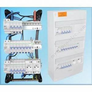 Tableau Electrique 4 Rangées : tableau electrique cable dans divers achetez au meilleur ~ Dailycaller-alerts.com Idées de Décoration