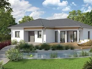 Bungalow Mit Garage Bauen : fertighaus bungalow we 136 vario haus fertigteilh user ~ Lizthompson.info Haus und Dekorationen