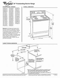 Whirlpool Range Rf196lxk User U0026 39 S Guide