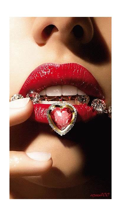 Animation Lips Lipstick Animated Jewelry Decentscraps Bellamumma
