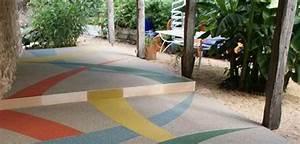 Resine Pour Terrasse Beton Exterieur : sol resine terrasse kitsol ~ Edinachiropracticcenter.com Idées de Décoration