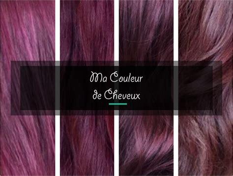 cheveux violet une coloration pour moi mauve violine