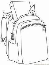 Coloring Bag Pages Preschool Kindergarten Worksheets sketch template