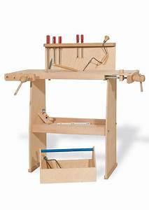 Werkbank Aus Holz : pinolino werkbank aus holz walter online kaufen otto ~ Watch28wear.com Haus und Dekorationen