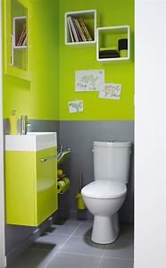 Deco Pour Wc : d co toilettes couleur ~ Teatrodelosmanantiales.com Idées de Décoration