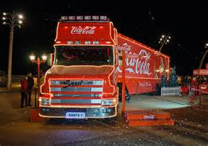 Blackpool Coca-Cola Truck