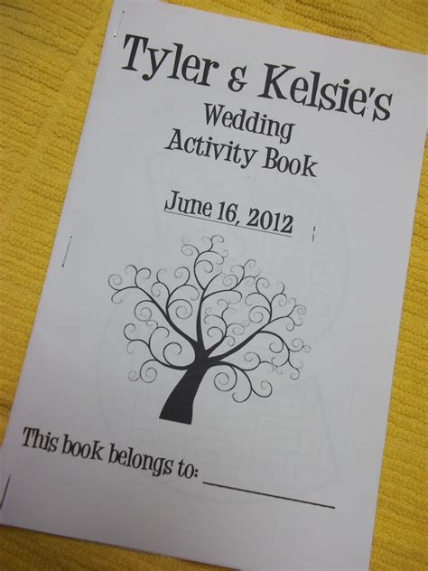 cut craft create wedding activity book for kids
