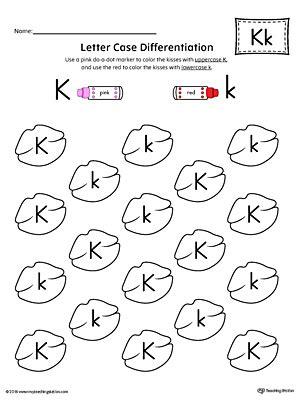 All Worksheets » Letter K Worksheets Printable