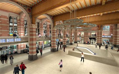 nieuwe trap haarlem nieuwbouw stijgpunt metroverdeelhal centraal station