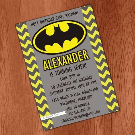 batman invitation digital file by csdesignandprint on etsy 10 00 birthday