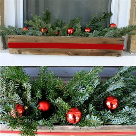 Dekorierte Fenster Weihnachten by 1000 Images About Winter Flower Boxes On
