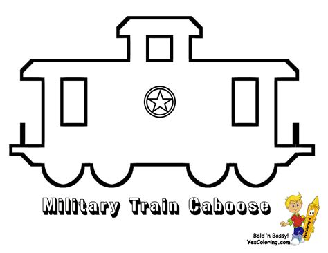 ironhorse army train coloring pages yescoloring  military
