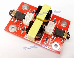 New Audio Noise Filter Ground Loop Isolator Coupling