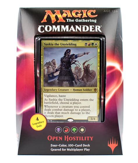 mtg commander decks 2016 magic the gathering 2016 commander deck box da card world