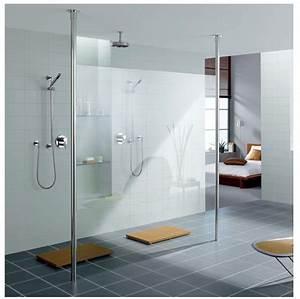 Paroi Douche Verre Sablé : comparatif des verres pour paroi de douche ~ Premium-room.com Idées de Décoration