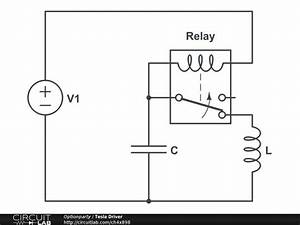 Variable Frequency Oscillator Using Relay And Capacitor