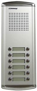 Commax 12 Buttons Audio Intercom Door Bell Panel For