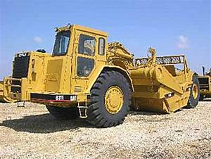 Caterpillar 631e Series 2 Tractor With 633e Elevating