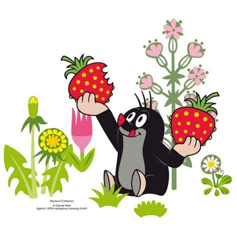 Wandtattoo Kinderzimmer Kleiner Maulwurf by Wandtattoo Maulwurf Erdbeeren Tiere иллюстрации Und разное