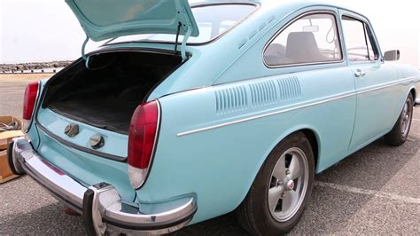 Nicely Modified 1972 Vw Volkswagen Type 3 Fastback For