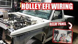 Wiring Burnie The Burnout Truck  Relay Panel For Holley