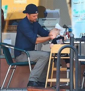 Josh Duhamel takes mini-me son Axl for a father-son ...